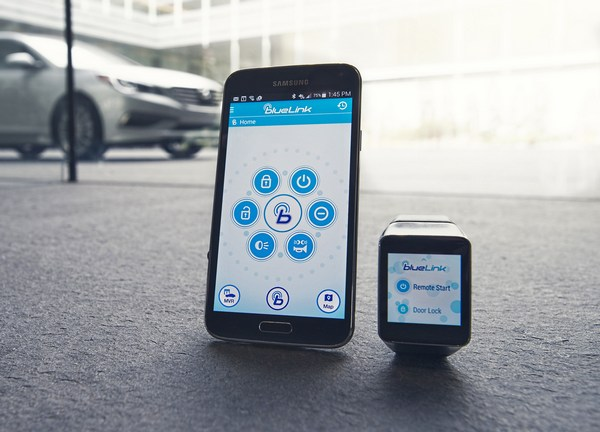 Hyundai Blue Link Android Wear