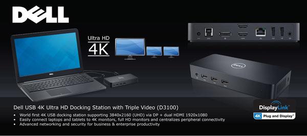 ������� ����������� ������� Dell D3100 ������ ������ DisplayLink DL-5910