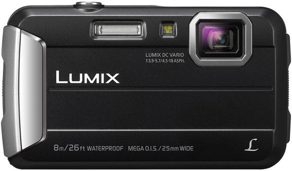 Оснащение камеры Panasonic Lumix DMC-TS30 включает дисплей размером 2,7 дюйма и разрешением 230 тысяч точек
