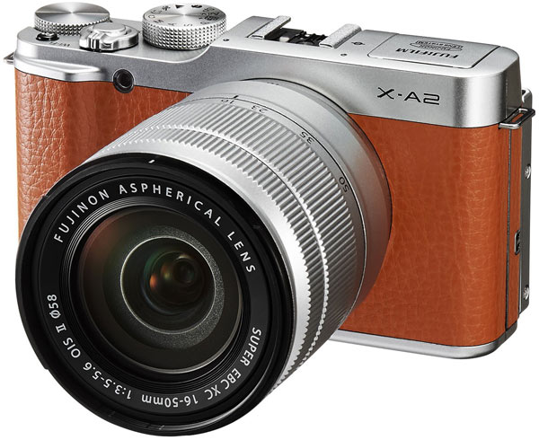 Основой камеры Fujifilm X-A2 служит датчик формата APS-C, разрешение которого равно 16,3 Мп