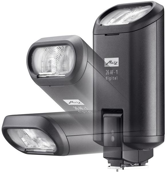 Вспышка Metz Mecablitz 26 AF-1 предназначена для компактных и беззеркальных камер