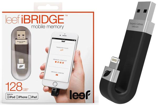 Накопители Leef iBridge доступны объемом 16, 32, 64, 128 и 256 ГБ