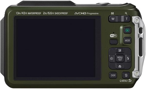 Покупатель Panasonic Lumix TS6 TS6 может выбрать камуфлированный вариант камеры