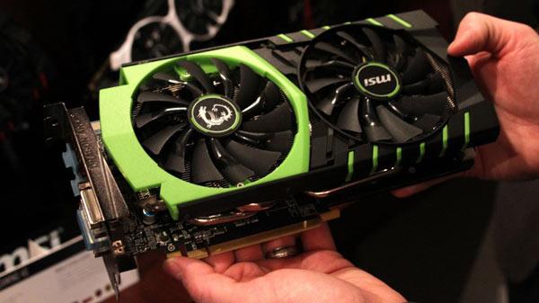 Продажи 3D-карт MSI GeForce GTX 970 Gaming 100ME и GTX 970 4GD5T-OC начнутся в этом месяце