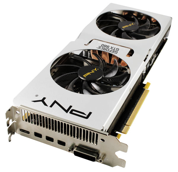 ���������� 3D-����� PNY GeForce GTX 980 Pure Performance 4Go GDDR5 ����� ��� ����������� ����������� 85 ��