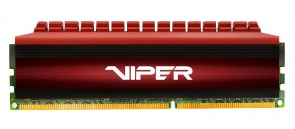 Продажи модулей памяти Patriot Viper 4 начнутся в текущем квартале по цене $250-$70