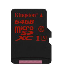 Карточки памяти Kingston Digital microSD UHS-I Speed Class 3 подходят для съемки видео 4K