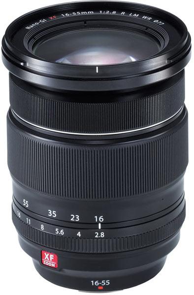 В России объектив Fujifilm Fujinon XF16-55mmF2.8 R LM WR будет стоить 55 тысяч рублей