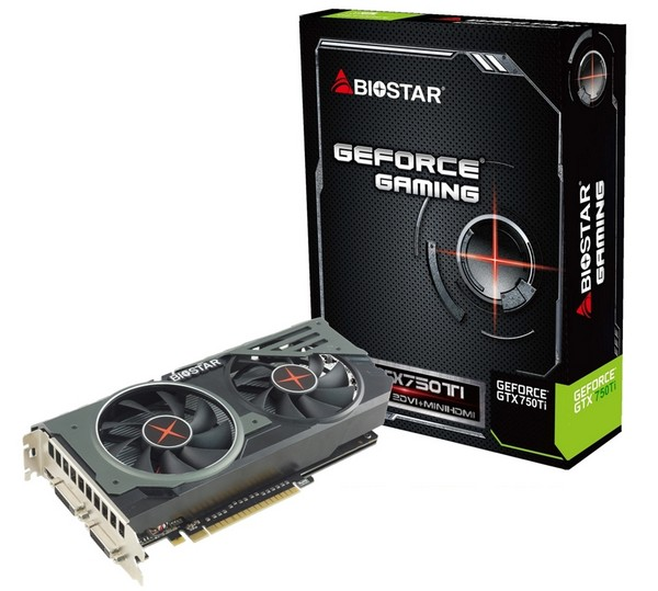 GeForce GTX 750 Ti Biostar