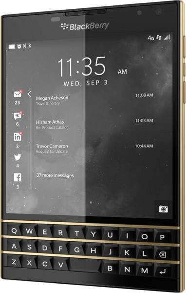Limited Edition Black & Gold BlackBerry Passport