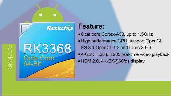 Rockchip RK3368 SoFIA 3G-R