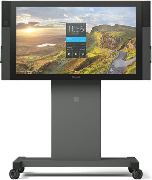 Microsoft Surface Hub — моноблочный ПК с 84-дюймовым сенсорным экраном 4К