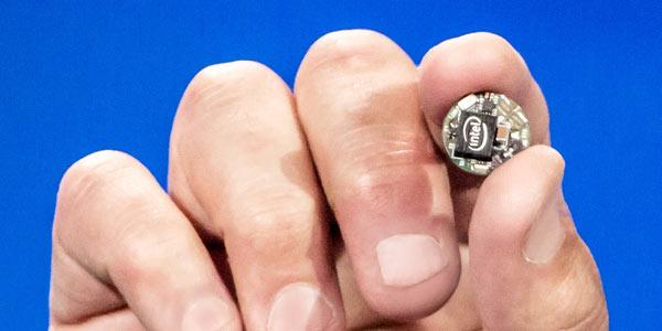 На CES 2015 представлен аппаратный модуль для носимых устройств Intel Curie
