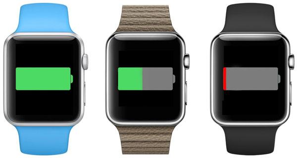 Запас автономности Apple Watch при работе в режиме часов — три часа