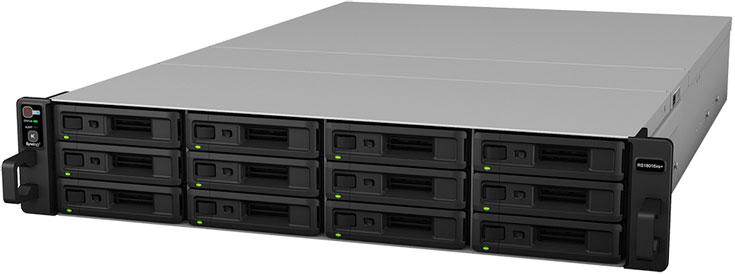 Одновременно с сетевым хранилищем Synology RackStation RS18016xs+ представлен модуль расширения RX1216sas