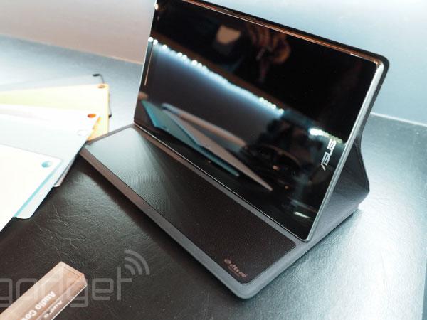 Специалисты Asus встроили в чехол для планшета акустическую систему 5.1