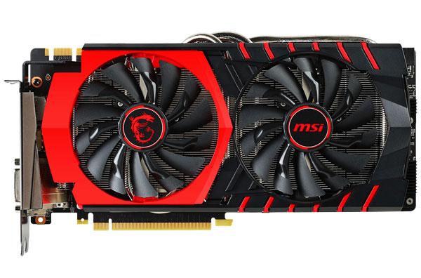 Карту MSI GeForce GTX 980 Ti Gaming 6G С отличает система охлаждения Twin Frozr V и наличие металлической пластины на тыльной стороне