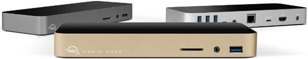 Док OWC USB-C Dock комплектуется блоком питания мощностью 80 Вт