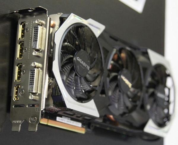 3D-карта Gigabyte GeForce GTX 980 Ti Gaming G1 оснащена шестью видеовыходами