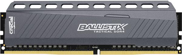 Модули Crucial Ballistix DDR4 поддерживают профили Intel XMP 2.0