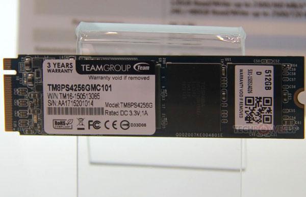 В накопителях Team TM8FP7 используется флэш-память тип MLC NAND