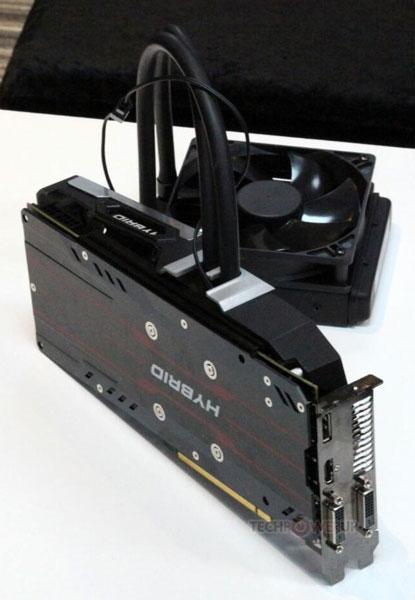 Система охлаждения PowerColor Devil Hybrid предназначена для будущих 3D-карт AMD (Fiji)