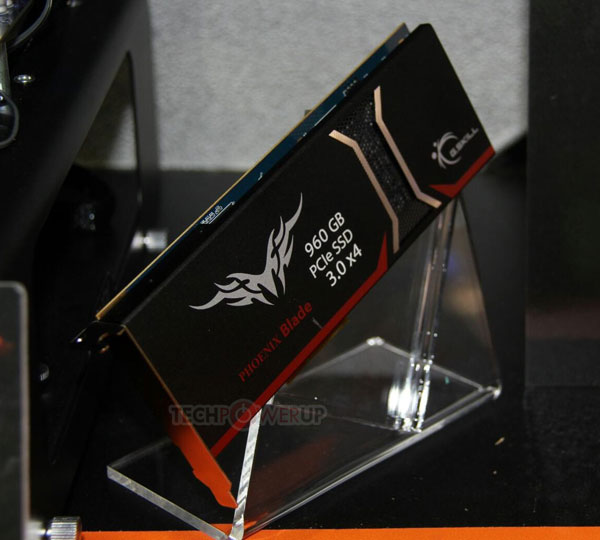 Твердотельный накопитель G.Skill Phoenix Blade оснащен интерфейсом PCIe 3.0 x4