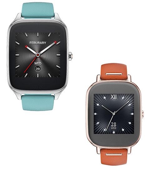 Умные часы Asus ZenWatch 2 оснащены дисплеем AMOLED