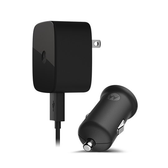 Motorola TurboPower 15 Wall Charger и TurboPower 15 Car Charger