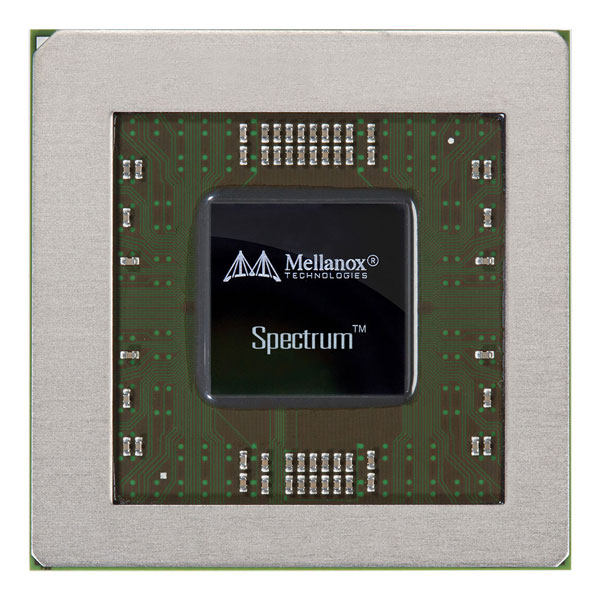 Неблокирующий коммутатор Spectrum предназначен для сетевого оборудования вычислительных центров
