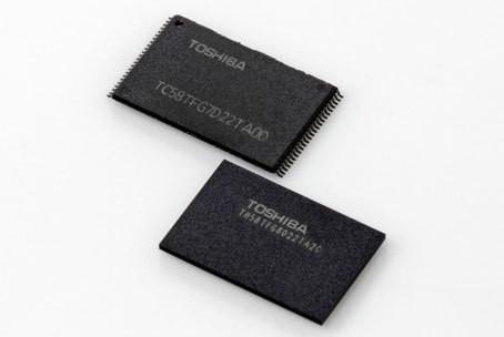флэш-память 3D NAND (BiCS)