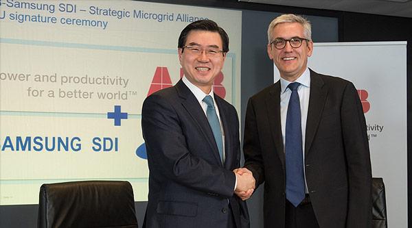 Партнеры рассчитывают объединить опыт Samsung в производстве аккумуляторов и охват мирового рынка ABB