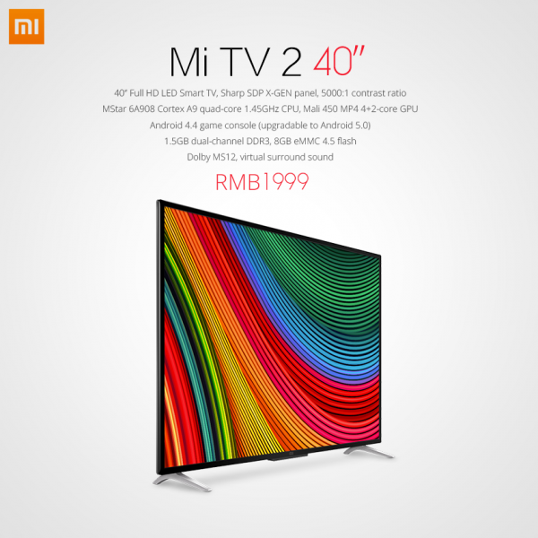 Xiaomi Mi TV 2 Full HD
