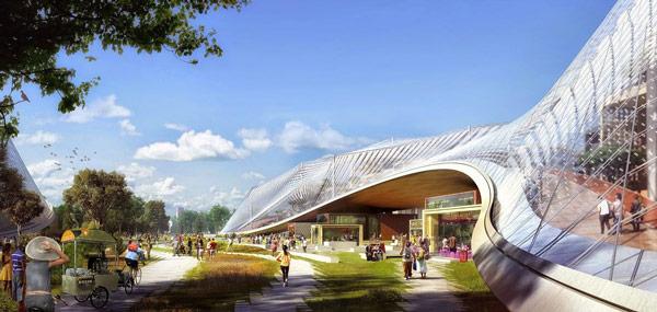 Компания Google рассказала о планах перестройки кампуса
