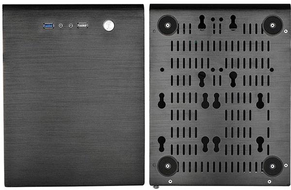Компьютерный корпус X2 Cube Max вмещает системную плату типоразмера microATX