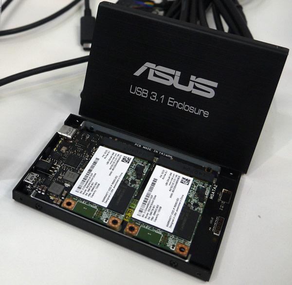 Корпус Lian Li EX-M2 предназначен для внешнего массива SSD