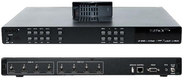 DVDO Matrix44 позиционируется как решение для дома и офиса