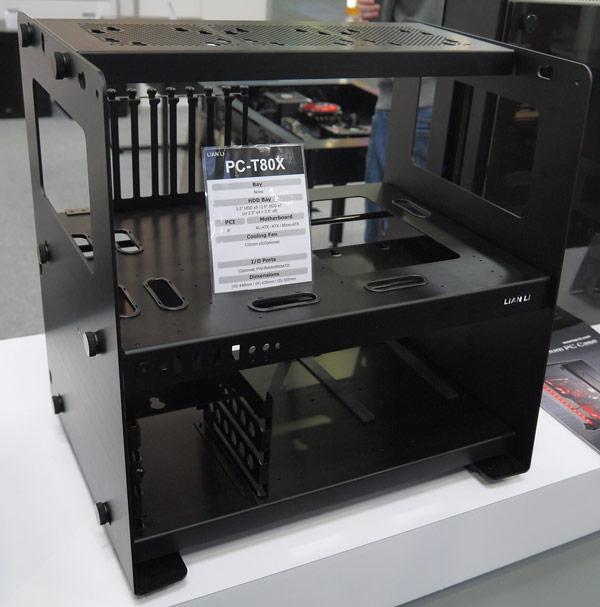 ����� Lian Li PC-T80X ��������� �� ����� ����������� XL-ATX, ATX � microATX