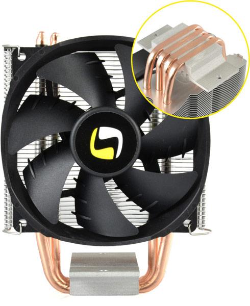 Высота процессорного охладителя SilentiumPC Spartan PRO-B HE924 равна 135 мм
