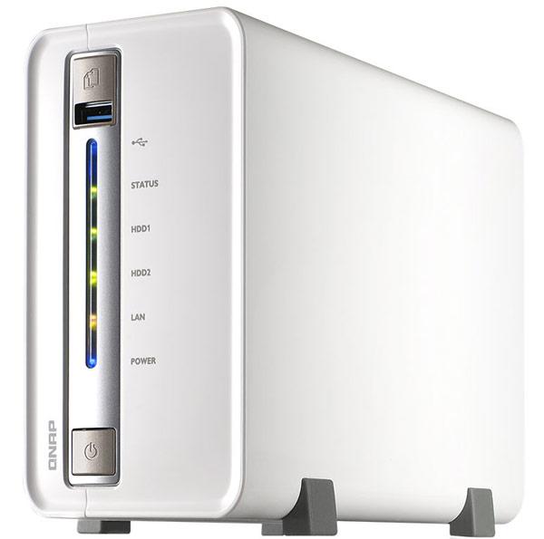 Хранилище QNAP TS-251C Turbo NAS можно использовать для централизованного хранения данных в домашней сети