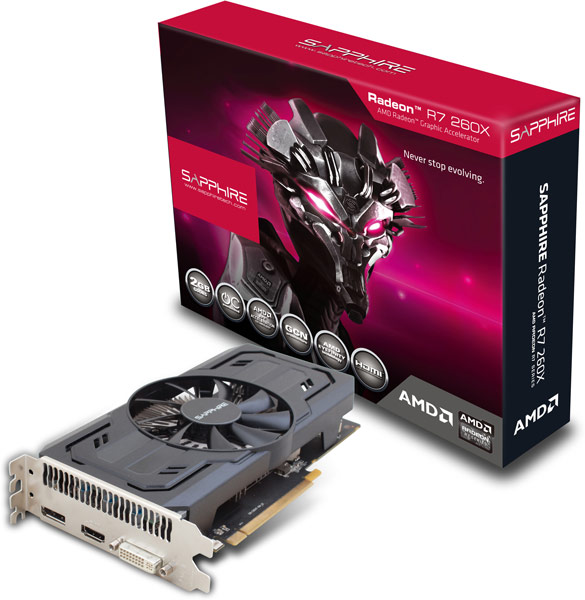 ����������� Sapphire ��������� 3D-����� Radeon R7 260X iCafe OC