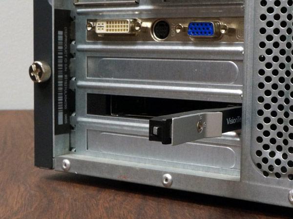 Конструкция VisionTek DriveXpander рассчитана на накопители типоразмера 2,5 дюйма