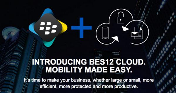 Компания BlackBerry представила кроссплатформенное корпоративное облако BES12 Cloud