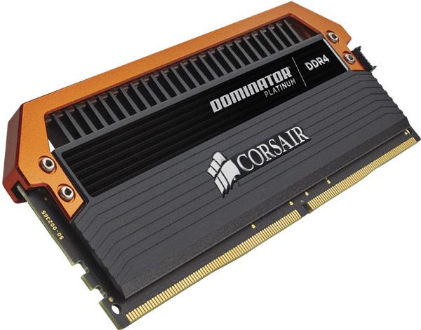 ����� ������� ������ Corsair Dominator Platinum DDR4-3400 Limited Edition Orange ������ �������������� � $1000