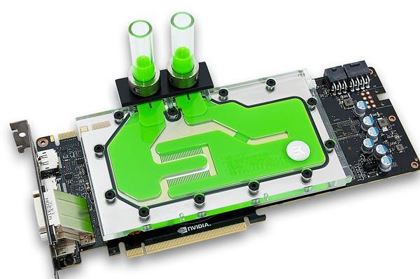 Водоблок EK-FC Titan X предназначен для 3D-карты Nvidia GeForce GTX Titan X