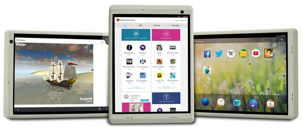 Референсный планшет стоимостью до $100 на процессоре MIPS может работать под управлением Android или Firefox OS
