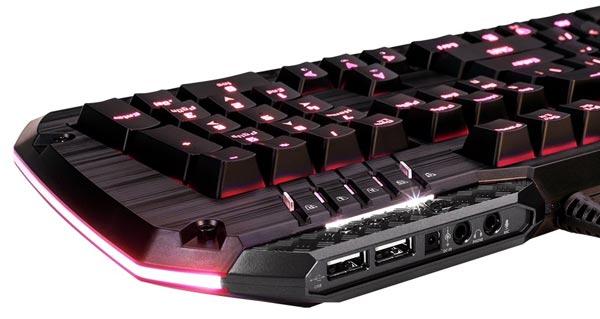 Клавиатура Tesoro Lobera Spectrum может работать в режиме светомузыкальной установки
