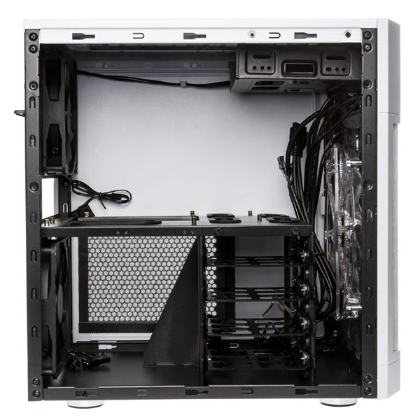 Компьютерный корпус Anidees AI-7m рассчитан на платы типоразмера microATX