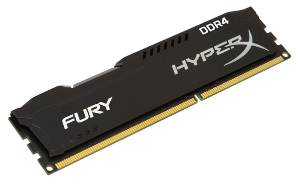 Представлены наборы модулей памяти HyperX Fury DDR4 и Predator DDR4 объемом до 64 ГБ