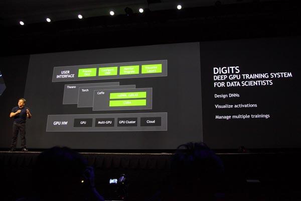 В ходе своего ключевого выступления Дженсен Хуанг анонсировал DIGITS и DIGITS DevBox
